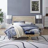 Twerton Upholstered Platform Bed by Wrought Studio™