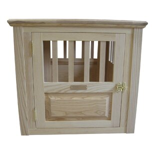 Dixie Handmade Furniture-Style Pet Crate By Archie & Oscar