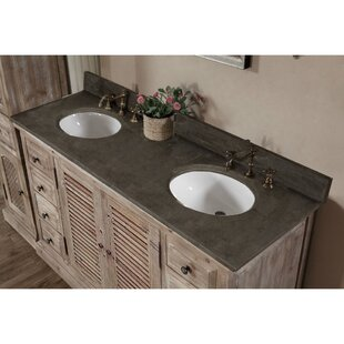 Bargain Clemmie 61 Double Bathroom Vanity By Laurel Foundry Modern Farmhouse