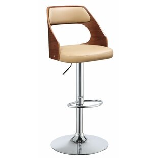 Balmer Adjustable Height Swivel Bar Stool