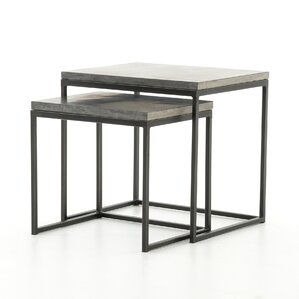 Donati 2 Piece Nesting Tables by 17 Stories