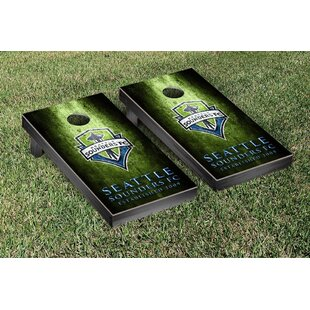 Victory Tailgate MLS Metal Version Cornhole Game Set