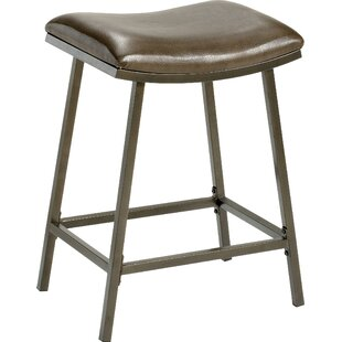 Latitude Run Proffitt Adjustable Height Bar Stool
