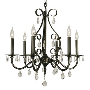 Liebestraum 6-Light Candle-Style Chandelier