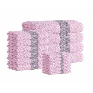 Nickolas 16 Piece Turkish Cotton Towel Set