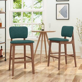 Boger Wooden 30.5 Bar Stool (Set of 2) Corrigan Studio