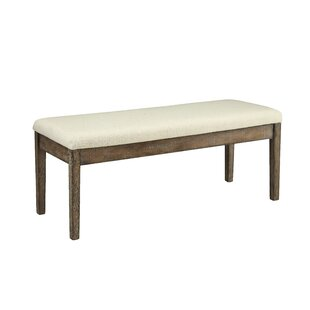 Boutin Wood Bench by Gracie Oaks