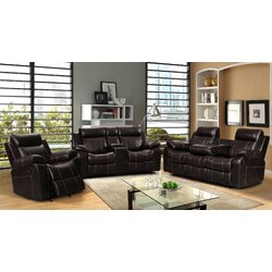 Living In Style Gabrielle 3 Piece Living Room Set & Reviews   Wayfair