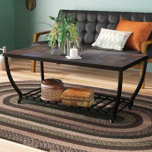 Find Levitt Rectangular Coffee Table By Loon Peak