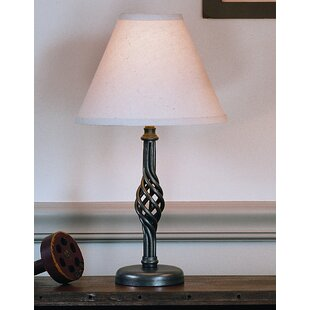 Twist Basket 16.5 Table Lamp