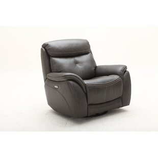 Homerun Swivel Headrest Power Glider Recliner