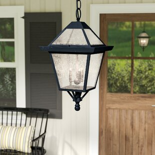 Darby Home Co Britannia 3-Light Outdoor Hanging Lantern