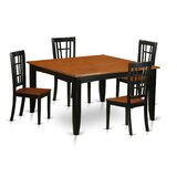 Pilning Extendable Solid Wood Dining Set by August Grove®