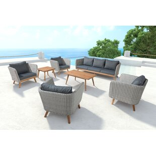 Corrigan Studio Des Moines Deep Seating Group with Cushions