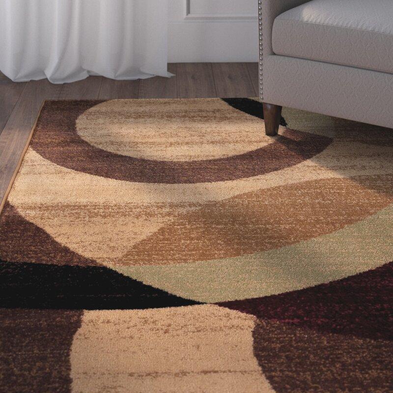 Ebern Designs Allison Geometric Multicolor Area Rug Reviews