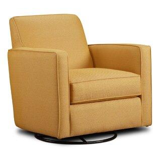 Wrought Studio Ballina Citrine Swivel Armchair