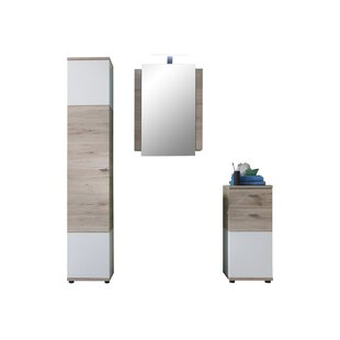 Nikolas 3 Piece Bathroom Furniture Set By 17 Stories
