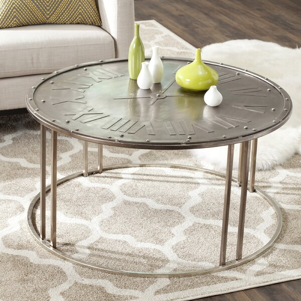 Charmant Safavieh Fox Roman Clock Coffee Table U0026 Reviews | Wayfair