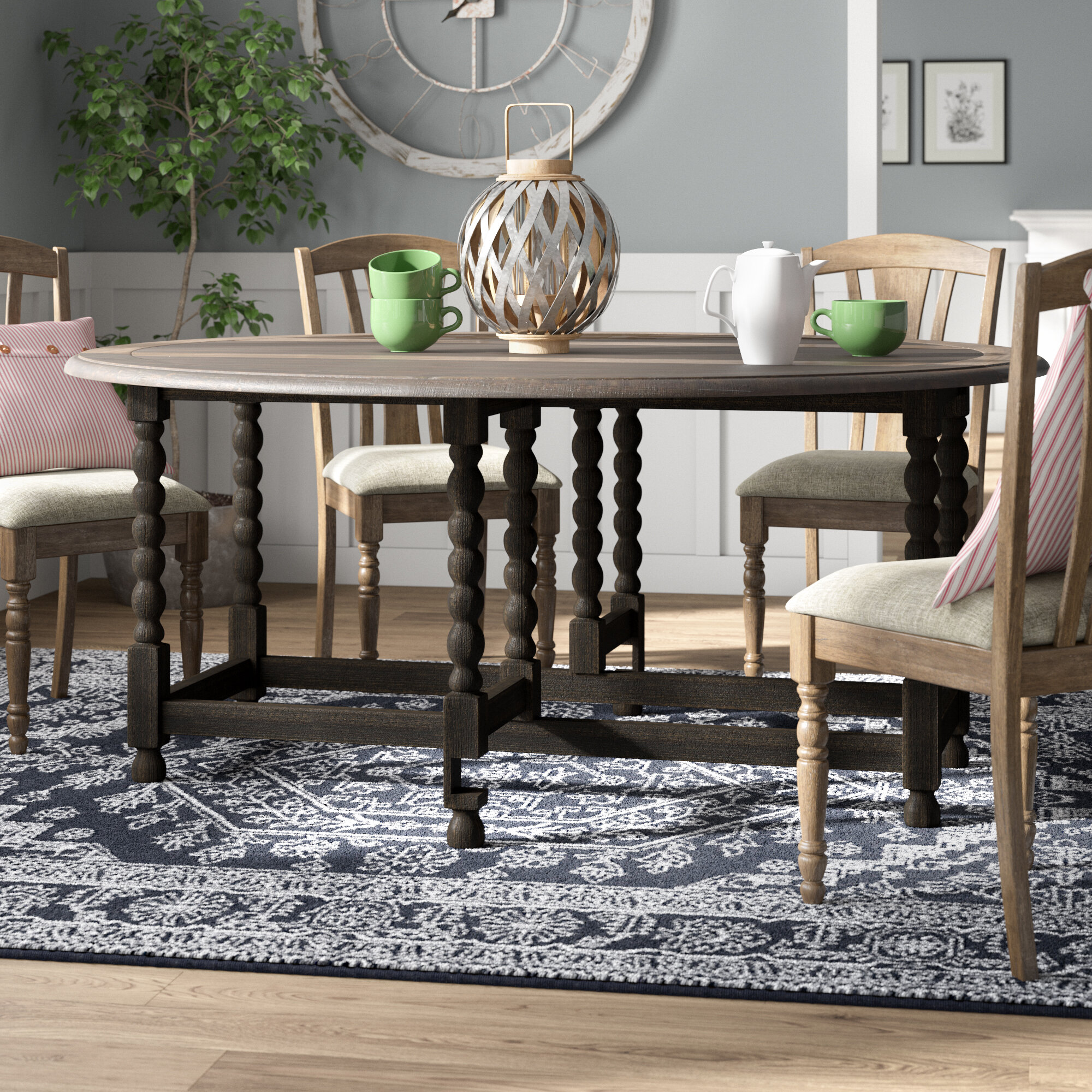 Ophelia Co Largent Drop Leaf Dining Table Reviews Wayfair