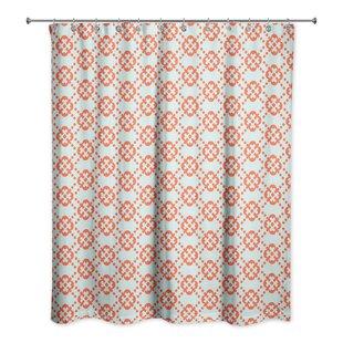 Hannum Floral Single Shower Curtain
