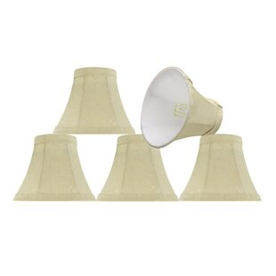 6 Fabric Bell Candelabra Shade (Set of 5)