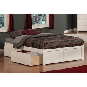 White Bed Frames With Storage storage beds you'll love | wayfair