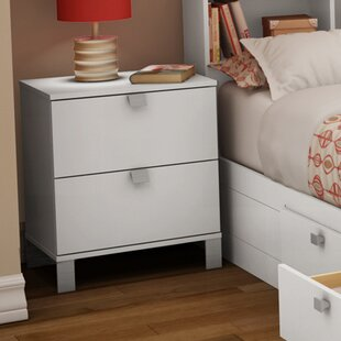 Spark 2 Drawer Nightstand by South Shore