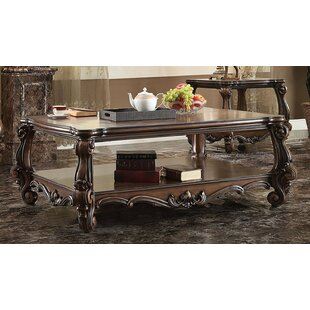 Elyssa Wooden Top Coffee Table