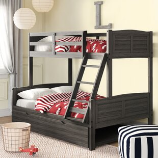 Bladon Twin Over Full Bunk Bed with Twin Trundle by Birch Lane™ Heritage