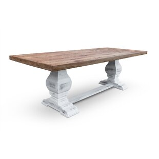 Farid Solid Wood Dining Table Gracie Oaks