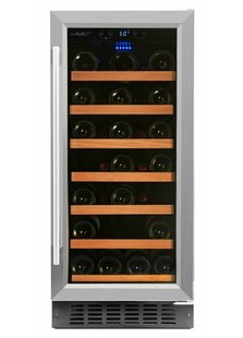 34 Bottles Single Zone Convertible Wine Cooler