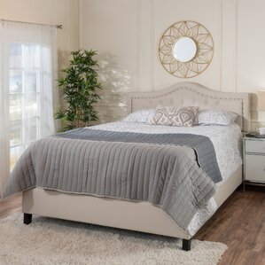 Auda Queen Upholstered Panel Bed Set by Willa Arlo Interiors