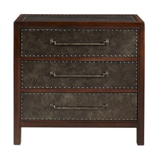Maher 3 Drawer Accent Chest by..