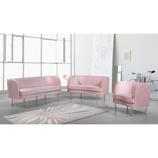 Deals Vivian Configurable Living Room Set by Meridian Furniture USA Reviews (2019) & Buyer's Guide