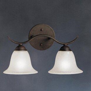 Order Cayman 2-Light Vanity Light By Alcott Hill
