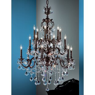 Chateau Imperial 18-Light Candle Style Chandelier by Classic Lighting