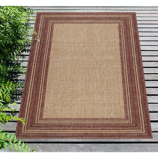 Desantiago Red/Beige Indoor/Outdoor Area Rug
