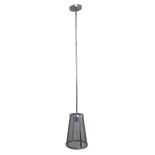 1-Light Cone Pendant by Latitude Run