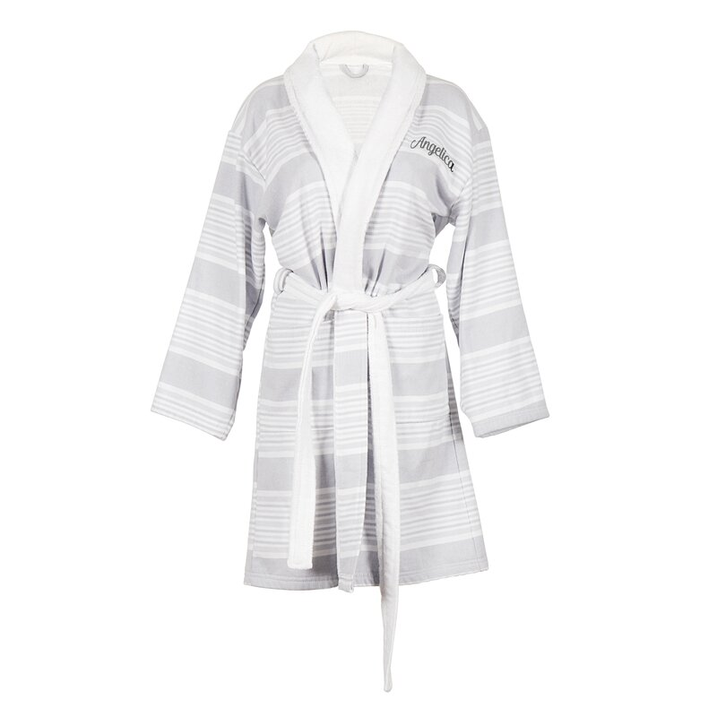 42bed9a7c7 Cathys Concepts Personalized 100% Cotton Turkish Terry Cloth Bathrobe