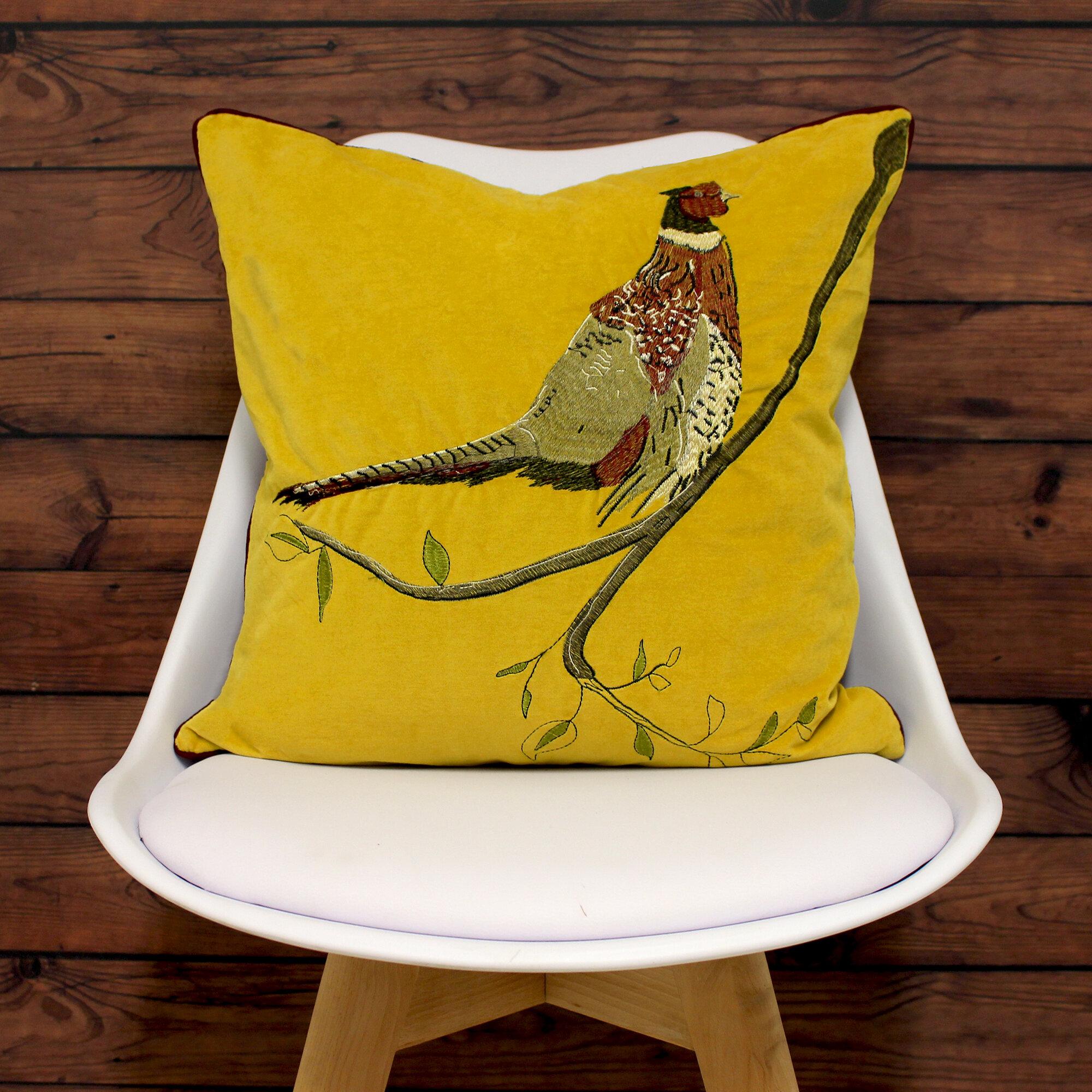 Sulphur Cotton Cushion Cover