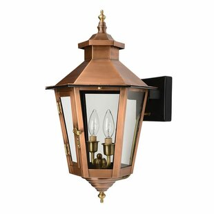 Hartline 2-Light Outdoor Sconce By Alcott Hill Outdoor Lighting