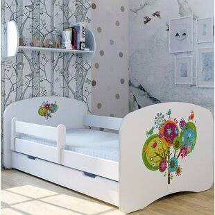 Lolly Tree Bed With Mattress And Drawer By Zoomie Kids