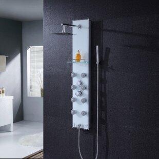 Luxier Pressure Balanced Rain Shower Head Shower Panel