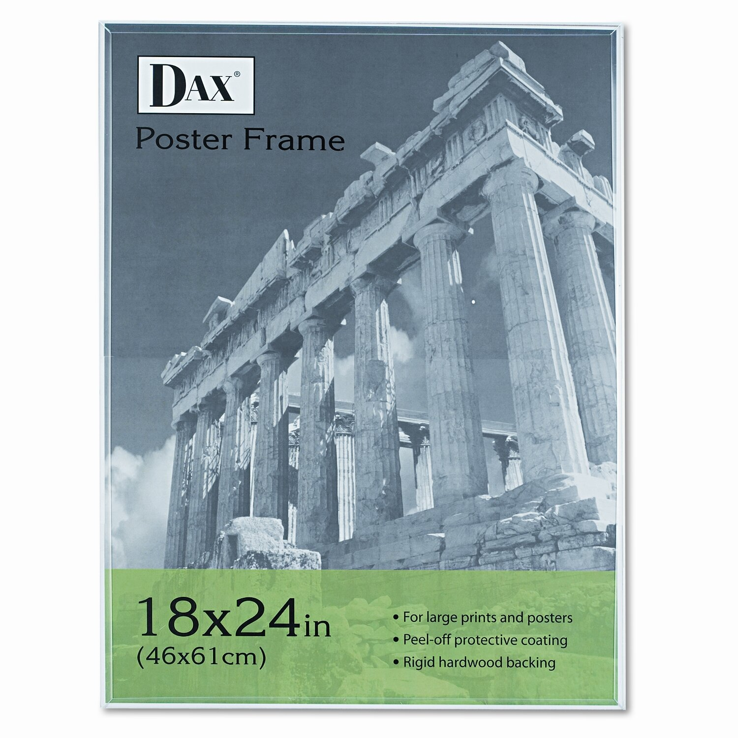 DAX MANUFACTURING INC. Coloredge Poster Frame with clear plastic ...