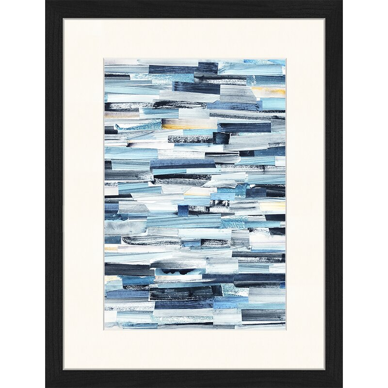 Brayden Studio Abstract Art Picture Frame Graphic Art Print On Paper Wayfair Co Uk