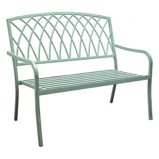 Alvis Aluminum Garden Bench by Ophelia & Co.