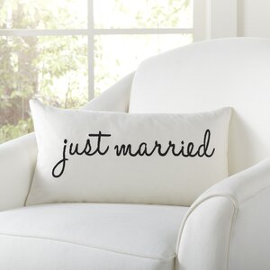 Newlyweds Pillow Cover