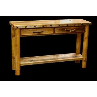 Loon Peak Jorgensen 2 Drawer Console Table