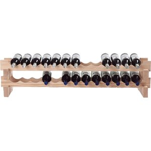 26 Bottle Tabletop Wine Rack