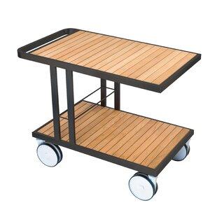 OASIQ Grace Teak Bar Serving Cart
